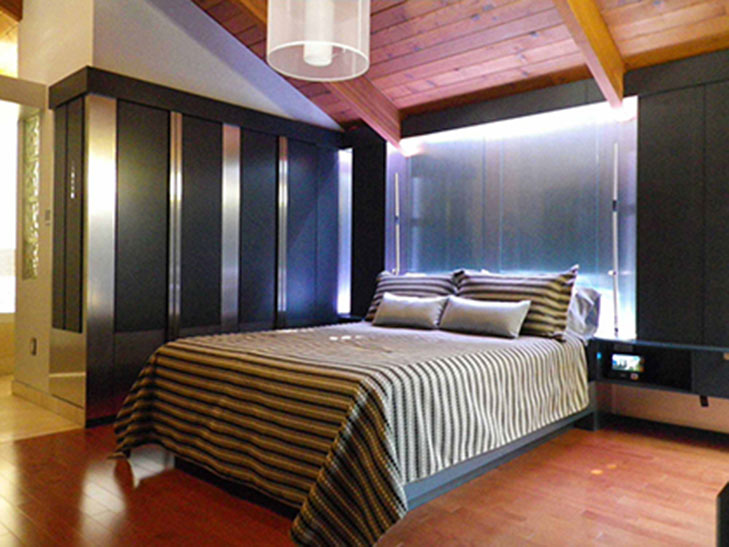 Architecture décorative dessinée par SC Designer - Chambre à coucher