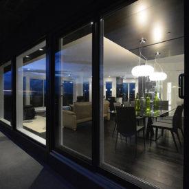 Design intérieur - Magnifique condo haut de gamme vue de l'extérieur
