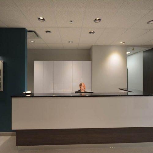 design et amenagement clinique médicale à Québec