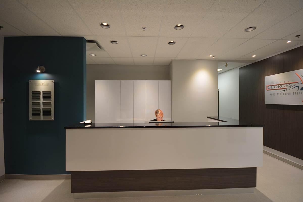 Design et amenagement clinique m dicale qu bec sc for Design d interieur entreprise