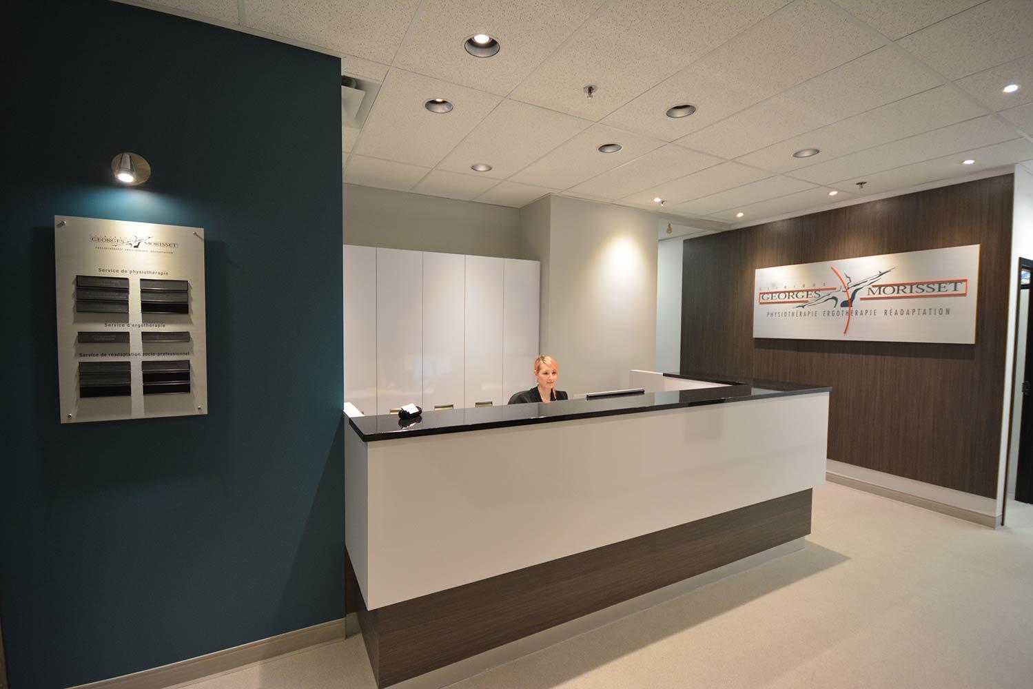 Réception Clinique Georges Morisset