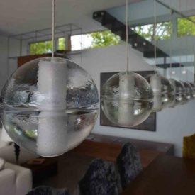 Design intérieur rehaussé par ce luminaire d'intérieur
