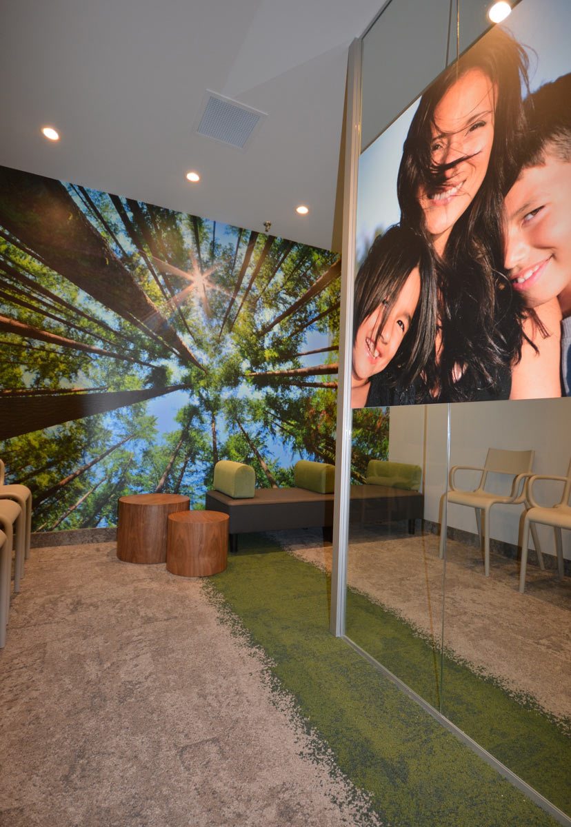 Design intérieur commercial Réception et salle d'attente